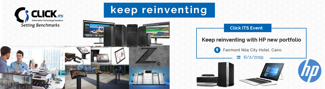 Keep reinventing with HP new portfolio